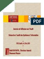 Audit Des Systemes d Information
