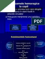 c29 Sindroame hemoragice
