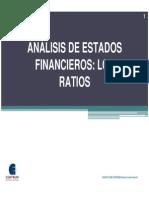 120 Analisis de Estados Financieros, Los Ratios
