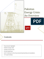 Pakistan Energy Crisis an Overview