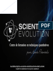 Scientific Evolution Sàrl Présentation