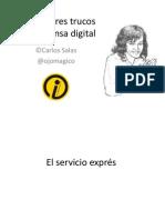 Los Mejores Trucos de Prensa Digital CORTA