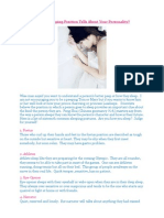 What Does Your Sleeping Position Tells About Your Personality