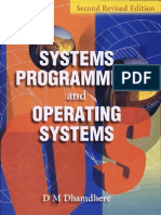 Systems Programming and Operating Systems by Dhamdhere