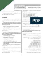 Cours Analyse Numerique