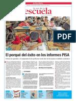 El porqué del éxito en los informes PISA.La Voz de la Escuela.04.12.2013