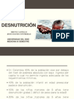DESNUTRICION  Exposicion