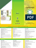 Folder Programação Geral da Etapa Nacional