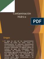 CONTAMINACIÓN HIDRICA