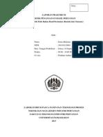 Laporan Teknik Penanganan Hasil Pertanian (Karakteristik Fisik Bahan Hasil Pertanian (Bentuk & Ukuran))