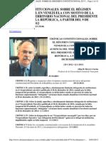 II.4.736 Cronicas Constitucionales Diciembre 2012