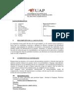 Silabo Redaccion Periodistica ALAS PER