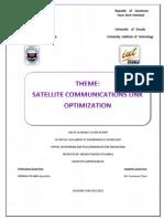 Satellite Communications Link Optimization