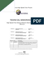 TM 2.2.4 Station Platform Geometric Design R1 100630