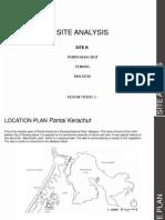 Pantai Kerachut Site Analysis