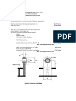 Lifting Lug Analysis