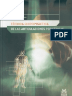 Tecnica Quiropractica de Articulaciones Perifericas