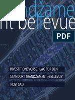 """INVESTITIONSVORSCHLAG FÜR DEN STANDORT TRANDŽAMENT »BELLEVUE"""" – NOVI SAD"""