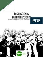 Sobre Las Elecciones Final 2013