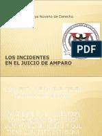 Los Incidentes Juicio de Amparo