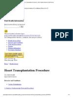 Heart Transplantation Procedure _ Johns Hopkins Medicine Health Library