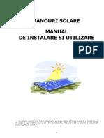 Panouri Solare Sisteme Complete Baxi Manual de Instalare Si