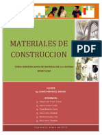 Identificacion de Material