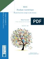 Analyse Numerique Faccanoni