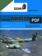 (Warpaint Series No.54) Westland Whirlwind F.Mk.I