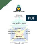 COMITÉ NACIONAL DE SALARIOS