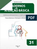 Cadernos Atencao Basica 31 Praticas Integrativas Complementares Plantas Medicinais Fitoterapia