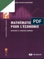 Mathématiques-Pour-Léconomie-Méthodes-Et-Corrigés