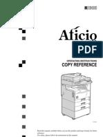 ricoh aficio 250 Operating Instruction