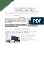 Arduino Ultrasonic Range Detector