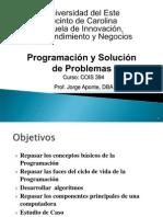 Pres_Inicio - Programacion y Solucion de Problemas - 2012