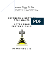 GOLDEN DAWN 3=8 Advanced Vibratory Techniques