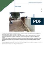 protección durante la ejecución de un muro