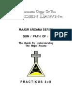 GOLDEN DAWN 3=8 Marjor Arcana Series - Sun