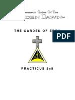 GOLDEN DAWN 3=8 The Garden of Eden