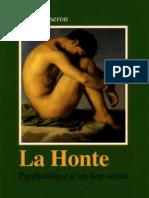 Serge Tisseron - La Honte Psychanalyse d'Un Lien
