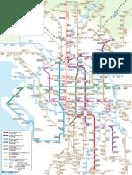 Map Osaka Transportation Network