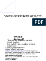 Android game power point presentation