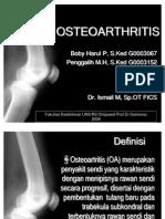 Osteoarthritis Ppt