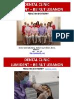 Pediatric Dentistry Dr Riad Bacho