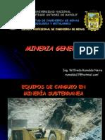 Equipos de Carguio Subterraneo