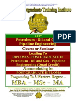 Petroleum Oil and Gas Pipeline Engineering HRODC PG TI London Quad Credit Course