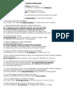 Examen de Oftalmología upao cirugia II