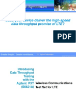 Does Your Device Deliver the High Speed Data Throughput Promise of LTE