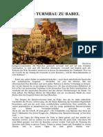Der Geistige Turmbau Zu Babel