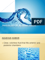 Physiology of Aqueous Humor